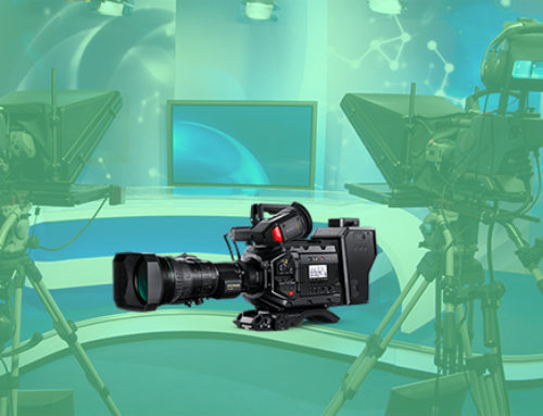 Flexible professional broadcast camera